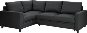 Argos Home Seattle Left Corner Fabric Sofa Bed – Charcoal