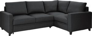 Argos Home Seattle Right Corner Fabric Sofa Bed – Charcoal