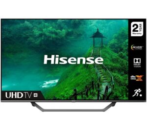 "65"" HISENSE 65AE7400FTUK Smart 4K Ultra HD HDR LED TV with Amazon Alexa"