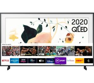 "65"" SAMSUNG The Frame QE65LS03TAUXXU Smart 4K Ultra HD HDR QLED TV with Bixby, Alexa & Google Assistant"