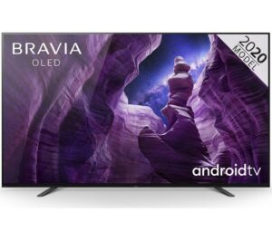 "65"" SONY BRAVIA KD65A85BU Smart 4K Ultra HD HDR OLED TV with Google Assistant"