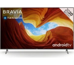 "75"" SONY BRAVIA KD75XH9296BU Smart 4K Ultra HD HDR LED TV with Google Assistant"