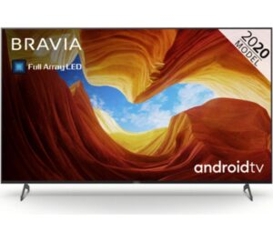 "85"" SONY BRAVIA KD85XH9096BU Smart 4K Ultra HD HDR LED TV with Google Assistant"