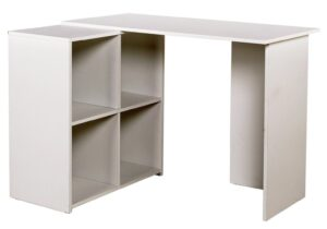 Argos Home Calgary Corner Office Desk - White