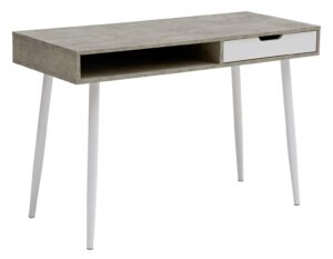 Argos Home Concrete Style Office Desk - Grey