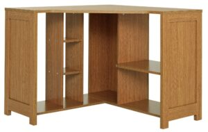 Argos Home Conrad Corner Office Desk - Oak Effect