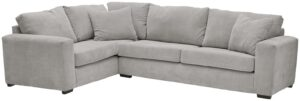 Argos Home Eton Left Corner Fabric Sofa – Grey