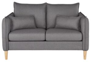 Argos Home Etta 2 Seater Fabric Sofa in a Box – Grey