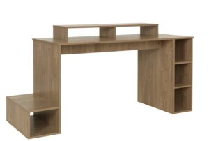Argos Home Gaming Desk - Oak Effect