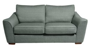 Argos Home Lotus 3 Seater Fabric Sofa – Seaglass
