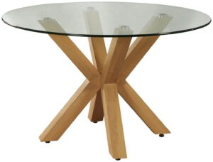 Argos Home New Alden Round Dining Table - Glass