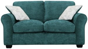 Argos Home Tammy 2 Seater Fabric Sofa – Teal