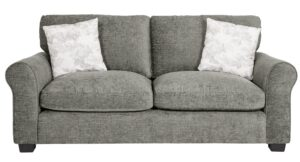 Argos Home Tammy 3 Seater Fabric Sofa – Mink