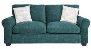 Argos Home Tammy 3 Seater Fabric Sofa – Teal