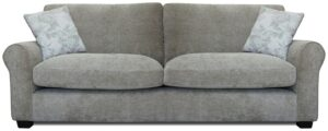 Argos Home Tammy 4 Seater Fabric Sofa – Mink