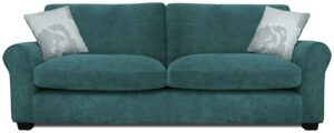Argos Home Tammy 4 Seater Fabric Sofa – Teal