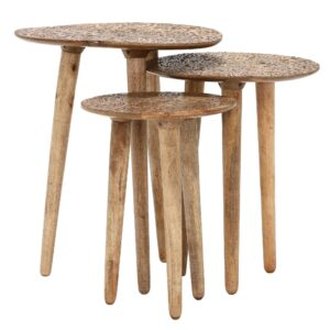 Arianna Side Tables, set of three
