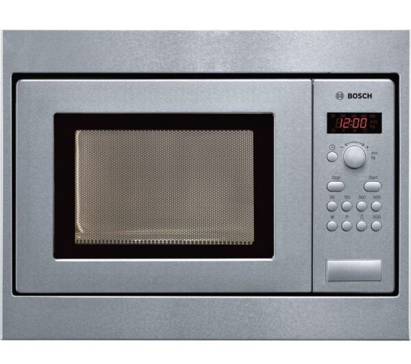 BOSCH HMT75M551B Built-in Solo Microwave - Stainless Steel, Stainless Steel