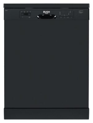 Bush BFSNB12B Full Size Dishwasher - Black