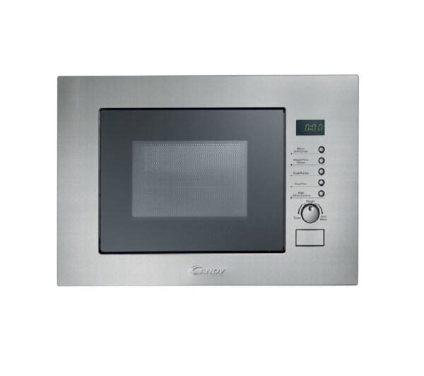 CANDY MIC20GDFX Built-in Compact Microwave with Grill - Stainless Steel, Stainless Steel
