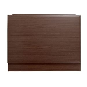 Cooke & Lewis Walnut effect End Bath panel (W)685mm