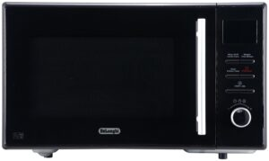 De'Longhi 900W Enamel Cavity Combination Microwave - Black