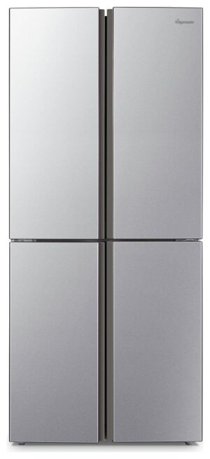 Fridgemaster MQ79394FFS American Fridge Freezer - Silver