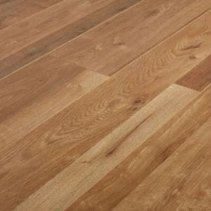 GoodHome Dawlish Natural Oak effect Laminate flooring