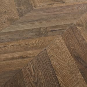 GoodHome Helston Natural Oak effect Laminate flooring Sample