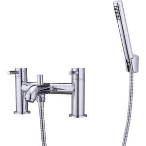 GoodHome Hoffell Chrome-plated Bath Shower mixer Tap