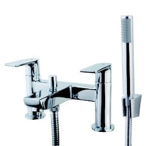 GoodHome Osani Chrome-plated Bath Shower mixer Tap