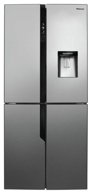 Hisense RQ560N4WC1 American Fridge Freezer - Stainless Steel
