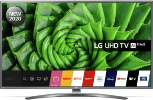 LG 43 Inch 43UN8100 Smart 4K Ultra HD LED TV with HDR