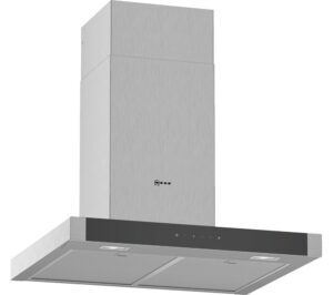 NEFF D64BHM1N0B Chimney Cooker Hood - Stainless Steel, Stainless Steel
