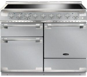 RANGEMASTER Elise 110 Electric Induction Range Cooker - Stainless Steel & Chrome, Stainless Steel