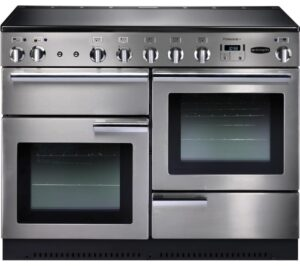 RANGEMASTER Professional 110 Electric Induction Range Cooker - Stainless Steel & Chrome, Stainless Steel