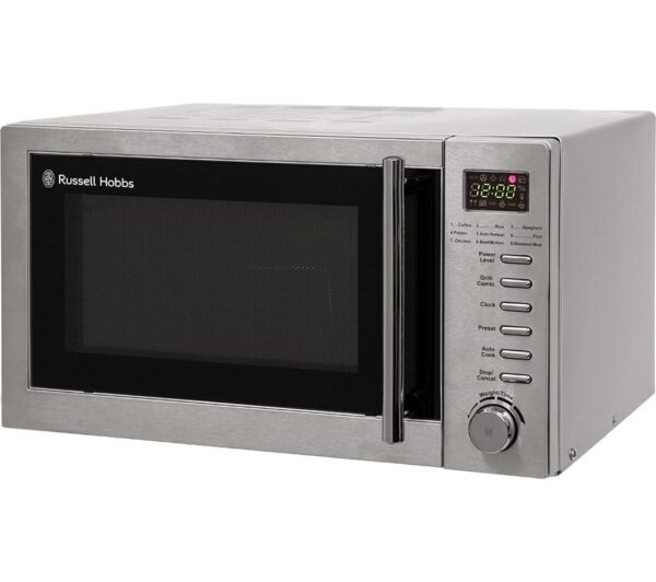 RUSSELL HOBBS RHM2031 Microwave with Grill - Stainless Steel, Stainless Steel
