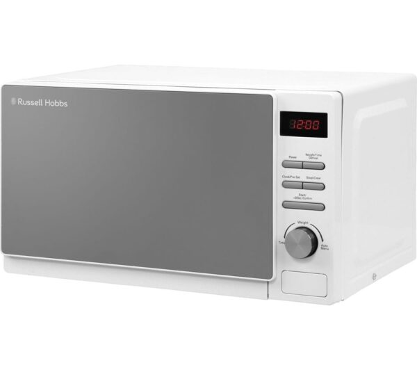 RUSSELL HOBBS RHM2079A Compact Solo Microwave - White, White