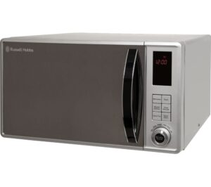 RUSSELL HOBBS RHM2362S Solo Microwave - Silver, Silver