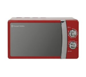 RUSSELL HOBBS RHMM701R Solo Microwave, Red