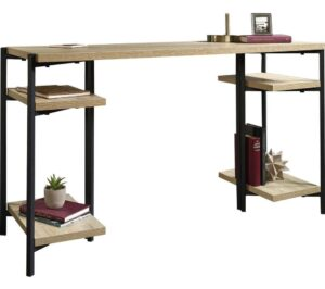 TEKNIK 5422097 Chunky Bench Desk - Charter Oak