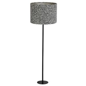 Tribal Print Floor Lamp