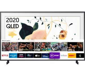"32"" SAMSUNG The Frame QE32LS03TBKXXU Smart Full HD HDR QLED TV with Bixby, Alexa & Google Assistant"