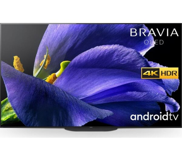 "77"" SONY BRAVIA KD-77AG9BU Smart 4K Ultra HD HDR OLED TV with Google Assistant, Black"
