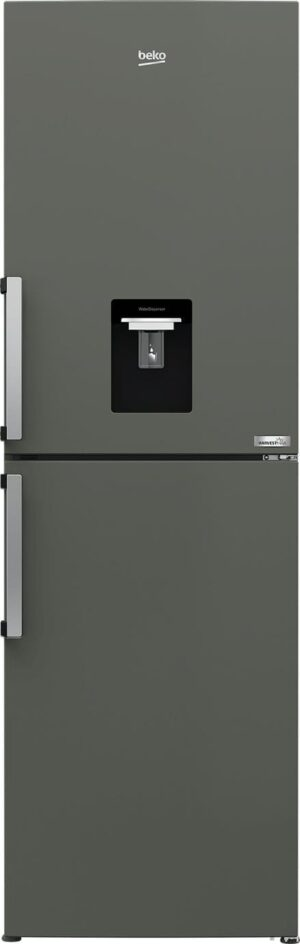 Beko HarvestFresh CFP3691DVG Fridge Freezer - Graphite