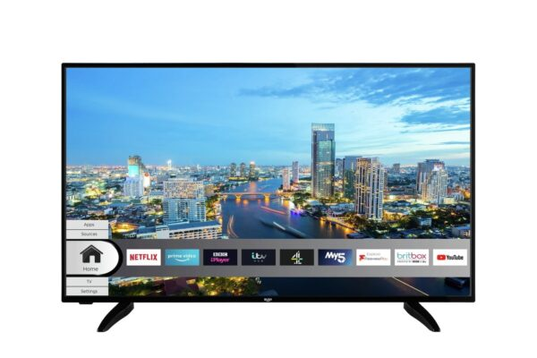 Bush 50 Inch Smart 4K Ultra HD DLED TV with HDR