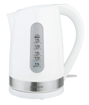 Cookworks Plastic Illuminated Kettle - White