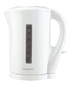 Cookworks Plastic Kettle - White