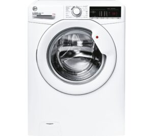 HOOVER H3W49TE NFC 9 kg 1400 Spin Washing Machine - White, White