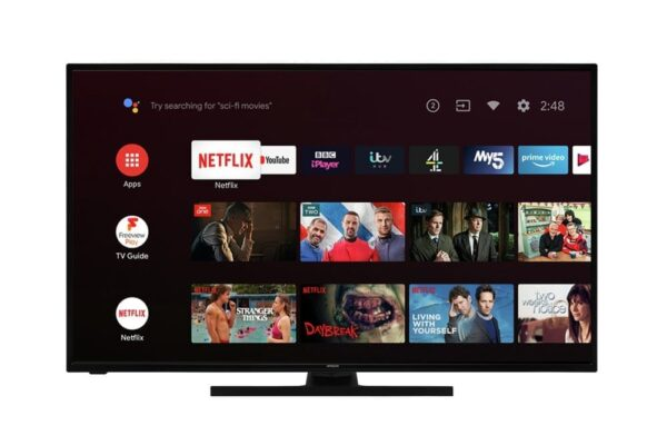 Hitachi 55 Inch Smart 4K UHD Android LED TV with HDR